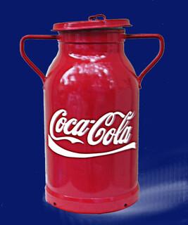 Bidon coca-cola