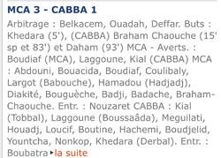 MCA-CA Bordj Bou Arreridj 3-1