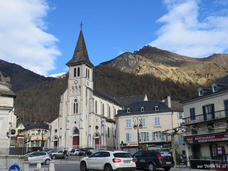 l'église de Laruns (64)