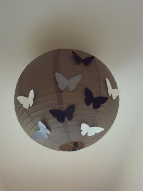 Luminaire papillons