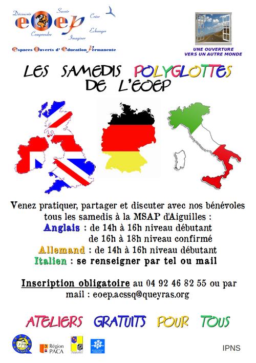 samedis polyglottes