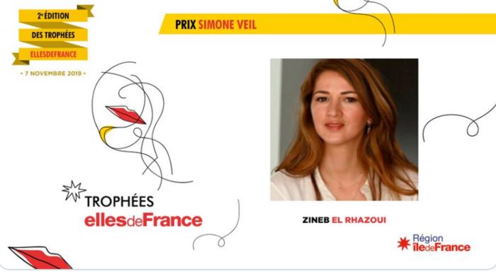 En pleine polémique, Zineb El Rhazoui reçoit le prix Simone Veil. Effarant !