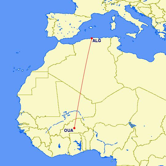 Air Algérie a perdu le contact avec un avion parti de Ouagadougou