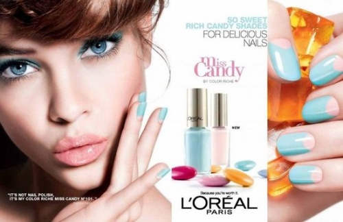 Miss Candy, collection été 2012 de L'Oréal Paris