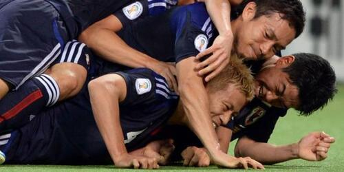 Foot japonais ... les premiers à Rio !