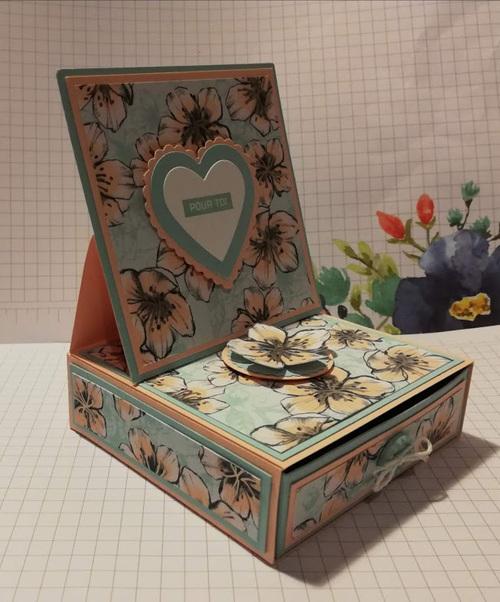 atelier chez Brigitte : les cadeaux.....