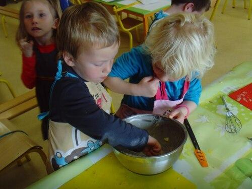 atelier cuisine - le pommelé