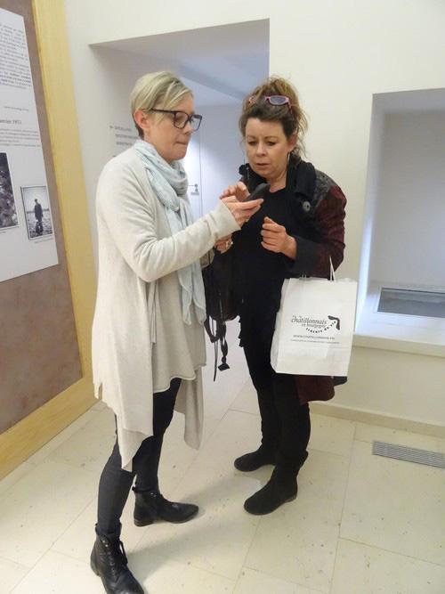 Les Amis du Musée du Pays Châtillonnais ont remis des audio-guides au Musée du Pays Châtillonnais-Trésor de Vix
