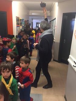 Couloirs en fête pour le Carnaval des petits et des grands
