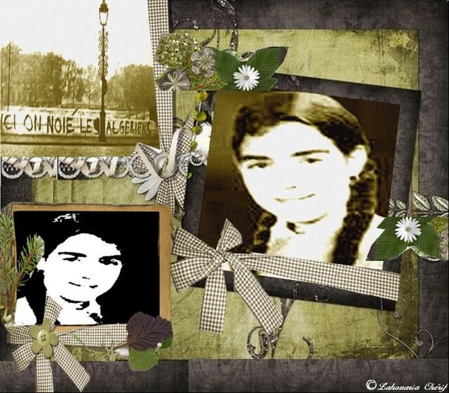 Inauguration du jardin Fatima-Bedar   à Saint-Denis  17 octobre 1961: la commémoration  d'hommage aux victimes de la meurtrière  répression policière prendra cette année   un caractère particulier.