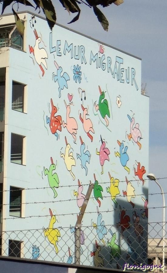 Le mur migrateur