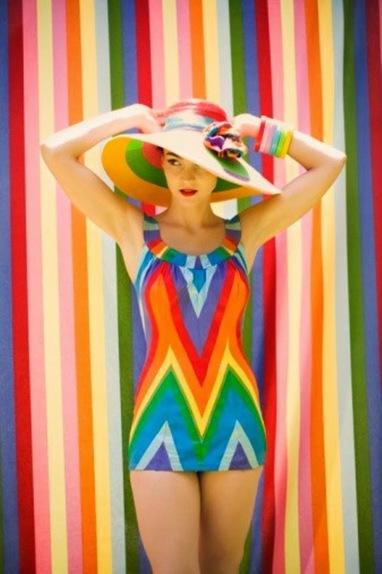 Rayures en couleurs