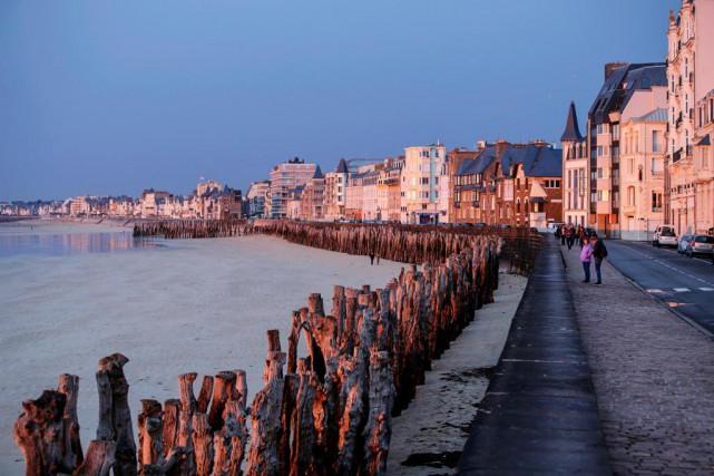 La plage du Sillon, à Saint-Malo... (Photo Alain Roberge, La Presse)