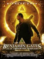 Benjamin Gates Tresor Templiers affiche