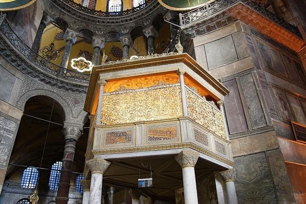 Hagia Sophia - la nef