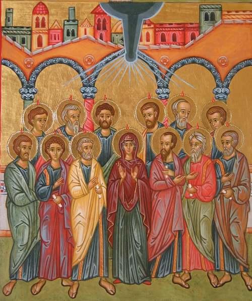 C'est aujourd'hui le 25 mai : Fête de la Pentecôte