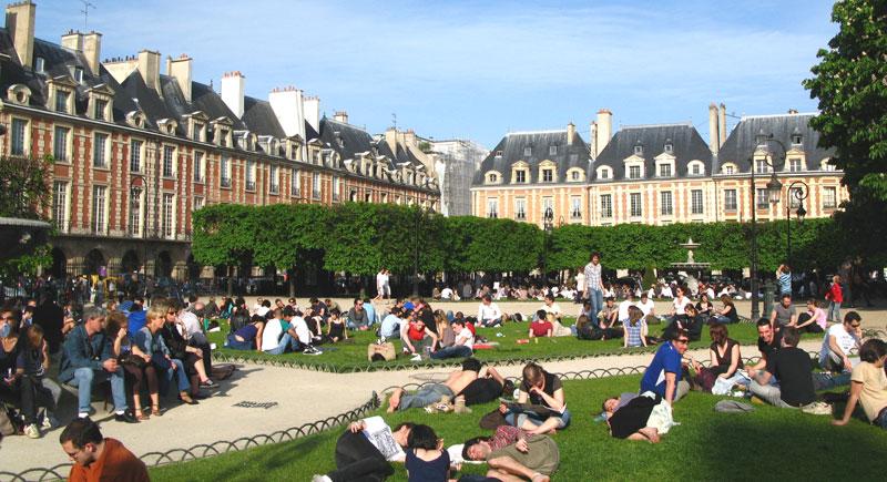espaces verts Paris monde
