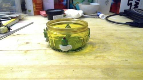 Activité manuelle : repose boule à thé