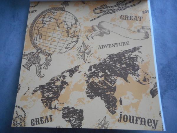 Bullet journal / Planner : carnet feuillets décos vintages de chez Action
