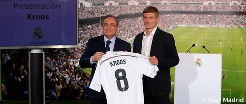 Toni Kroos : L'appel au large