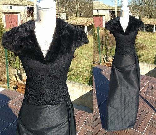 Robe noire Sansa (2)