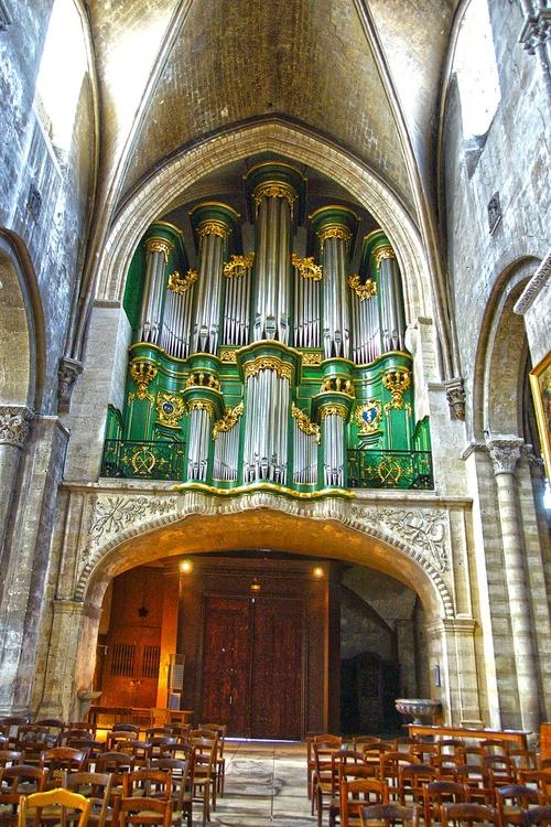 Eglise sainte croix - les orgues