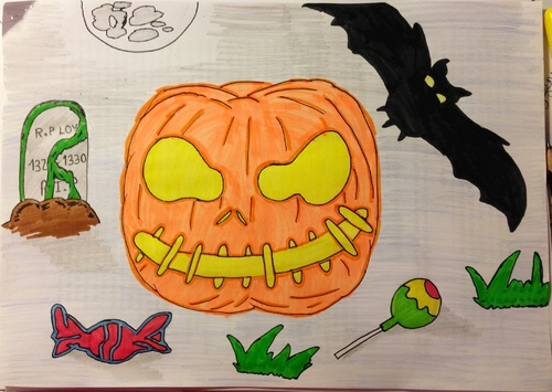 Concour dessin halloween