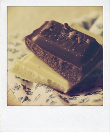 Tête de choco (au chocolat au lait)