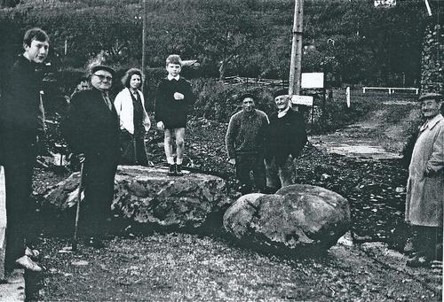 en 1966 la pierre à marier est déterrée
