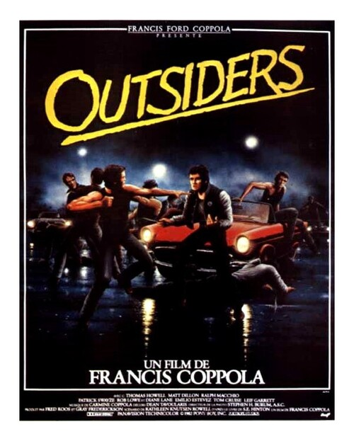 OUTSIDERS - BOX OFFICE TOM CRUISE 1983