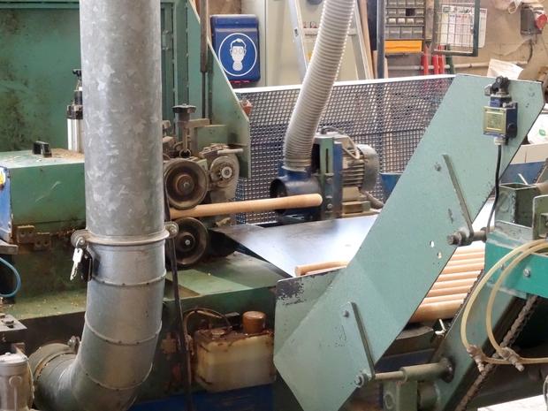 L'entreprise Rousselet à Vertault : fabrique de manches d'outils, tournerie, scierie