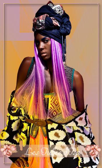 AF0019 - Tube femme africaine