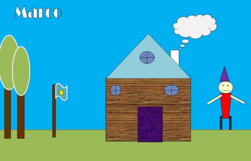 je crée des maisons avec Office WORD