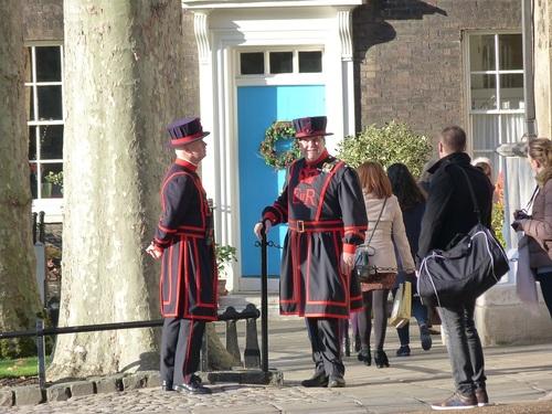 Police & Gardes à LONDRES