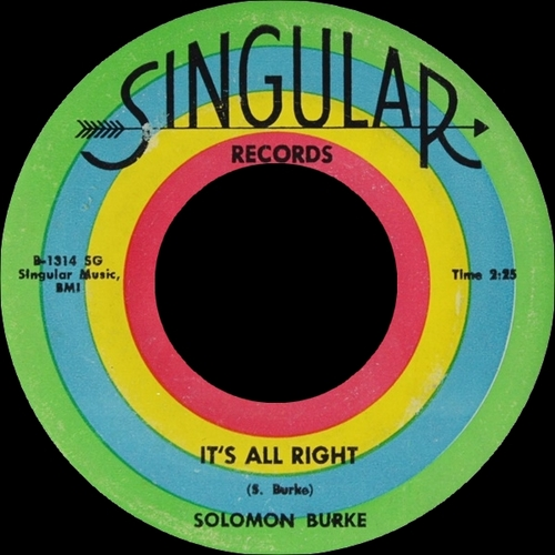 "Solomon Burke : CD "" I'm Not Afraid The Singles 1955-1962 "" SB Records DP 119 [ FR ]"
