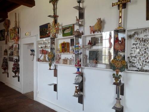 Le Musée des Arts Naïfs à Noyers sur Serein