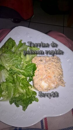 Terrine de poisson rapide (thermomix)