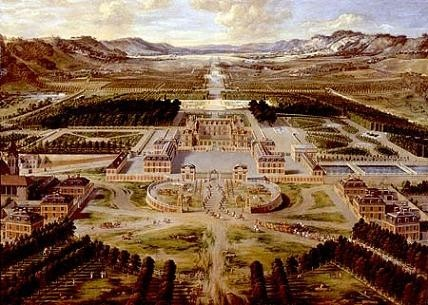 Le Château de Versailles en 1668 1296685146