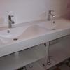 Pose meuble double vasque salle de bain (4)