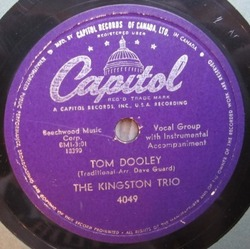 Kingston Trio : Tom Dooley (1958)