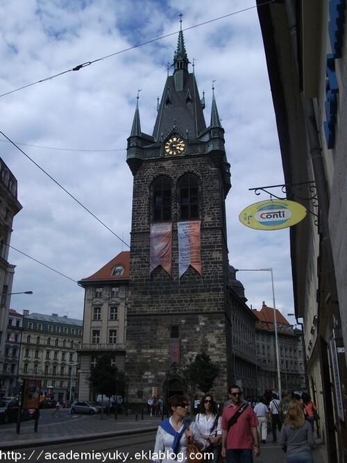 Prague : premier jour.