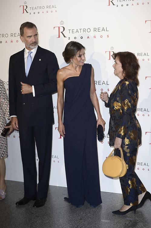 Felipe et Letizia au théâtre royal, le 19 septembre