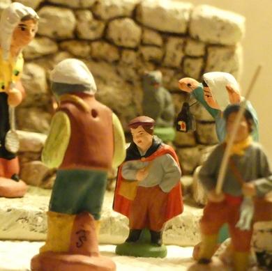Le Noël des petits santons...