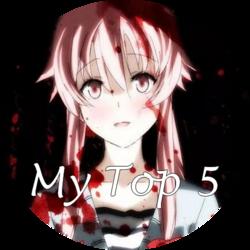 Top 5 - Mes Animés Horreur ♥ ( Septembre 2018 )