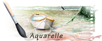 Aquarelles watercolors