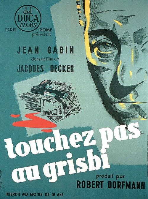 TOUCHEZ PAS AU GRISBI - BOX OFFICE JEAN GABIN 1954