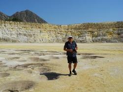 NYSIROS, l'île volcanique