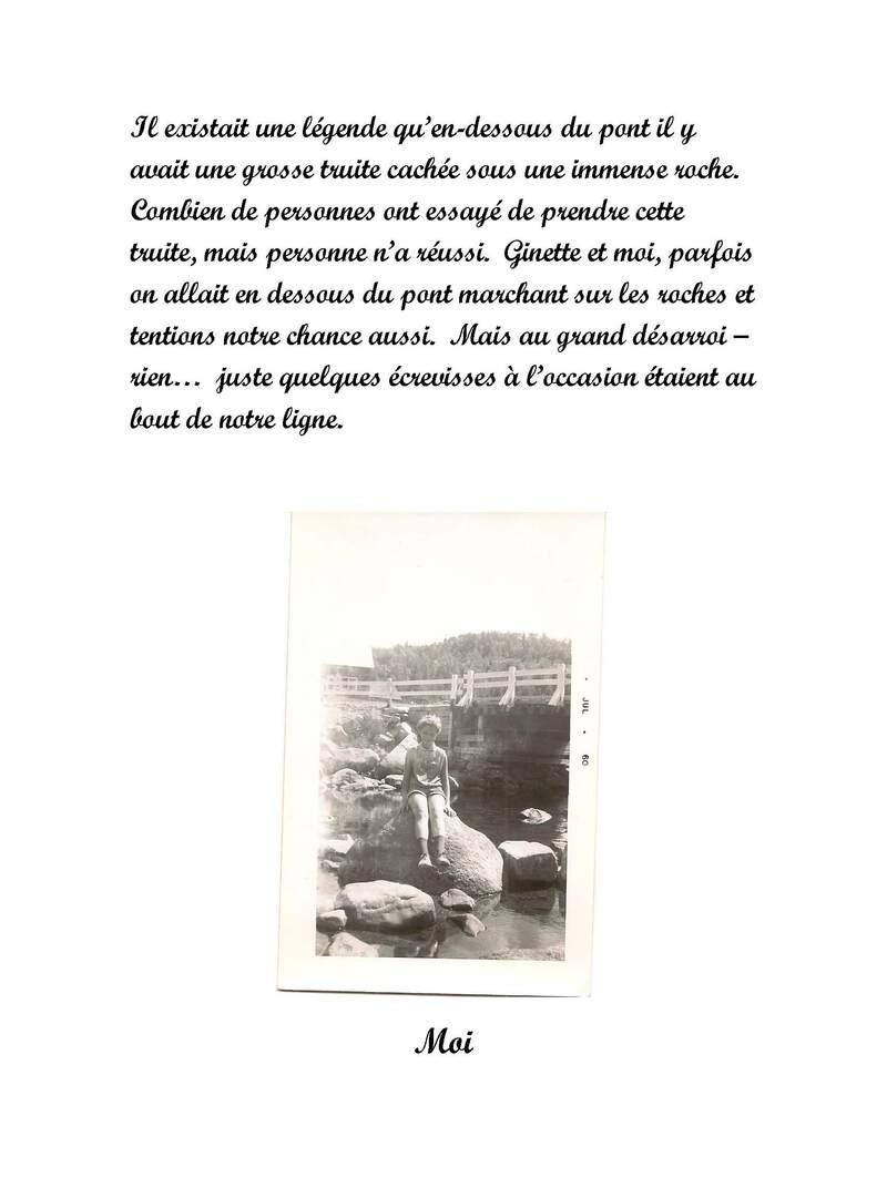 La Légende de la rivière Versailles à St-Côme
