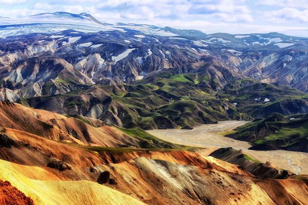 Les débuts du monde en Islande