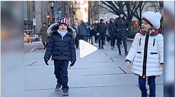 Jacques et Gabriella  à New york( vidéo)